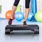 Homcom® Steppbrett Aerobic Fitness Heimtrainer Stepper höhenverstellbar - 2