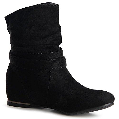 Topschuhe24, Bottes Femmes Noires