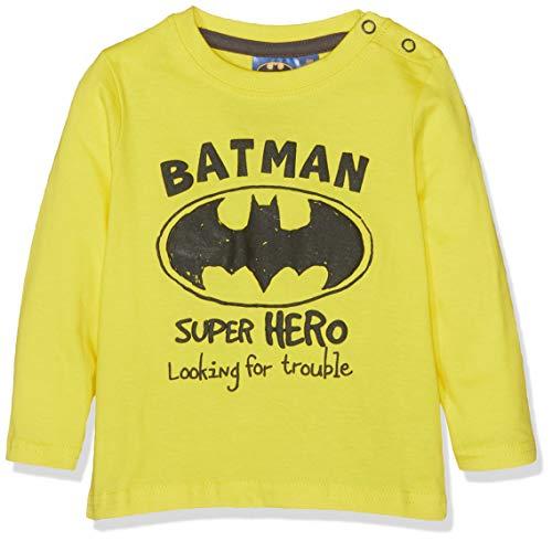 Batman Baby-Jungen T-Shirt 2544, Gelb Jaune, 12-18 (Herstellergröße: 18 ()