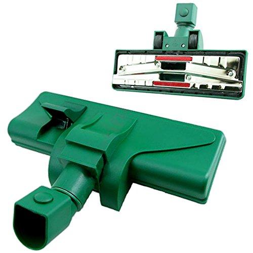 Eurosell - spazzola commutabile per pavimenti, con attacco a scatto, per vorwerk kobold 118, 119, 120, 121, 122, tiger 250, 252 vt, vt250, vt251, alternativo per prodotto originale