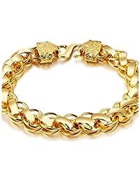 d9785f6086ff Amazon.es  esclavas de oro para hombre - 20 - 50 EUR   Pulseras ...