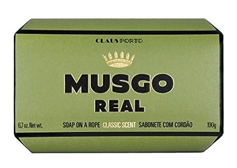 Musgo Real Claus Porto Savon corporel avec corde pour homme