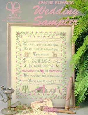 Wedding Sampler (Apache Blessing) by Janet Powers Originals
