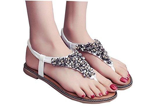 Sandals female summer flat 2017 nouvelle version coréenne des étudiants sauvages du mot dossier pieds avec simple 2