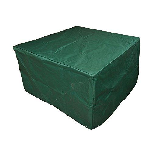 Outsunny Schutzhülle Abdeckung Abdeckhaube für Gartenmöbel 135 x 135 x 75 cm, grün - Cord-one Piece