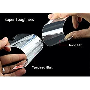 Johra® (Buy 1 GET 1 Free) Unbreakable Nano Glass [ Better Than Tempered Glass ] Screen Protector for Huawei Honor P20 Pro