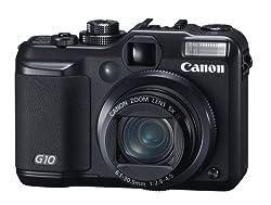 Canon Powershot G10 - Digital Camera - Compact - 14.7 Mpix - Optical Zoom: 5 X - Supported Memory: Mmc, Sd, Sdhc, Mmcplus