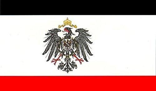 UB Fahne / Flagge Kaiserreich mit Adler Reichsadler Deutsches Reich 90 cm x 150 cm Neuware!!!