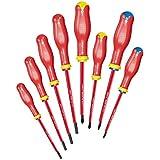 USAG U00910106 Serie giraviti isolati 1000V, Rosso