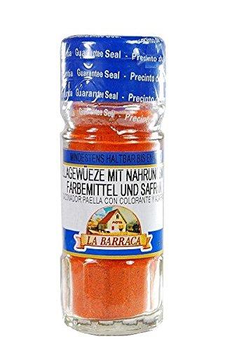 Paellagewürz mit Safran / Especias para paella con azafran - 50 gr