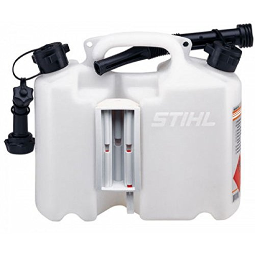 Stihl Transparent Combination Safety Can 5L Fuel 3L Chain Oil 0000 881 0123 Test