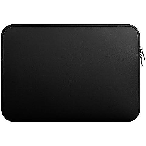 YipGrace Funda De Neopreno Para Portátil Acolchada Bolsa Portátil para MacBook Air/Pro/Retina de 11