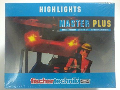 Fischertechnik Highlights Master Plus Ergänzungsset