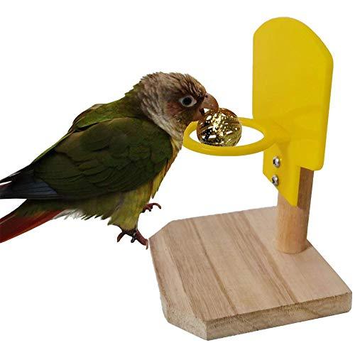 Hualieli Vogelspielzeug, Vogeltrick Tischspielzeug, Intelligenztraining Stapelspielzeug, Papageien Kauspielball, Lernspielzeug Für Turnhallen