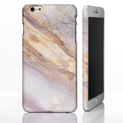 Schutzhülle für verschiedene iPhone Modelle, mit strukturierten Marmor-/ Naturstein-Muster, glänzend Individuelles Design, 14: Pink and Beige Marble, iPhone 6 / 6S - Tough Case 4: Pink and Cream Marble