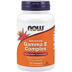 Now Foods Advanced Gamma E Complex Antioxidant Hochdosiert, 120 Weichkapseln