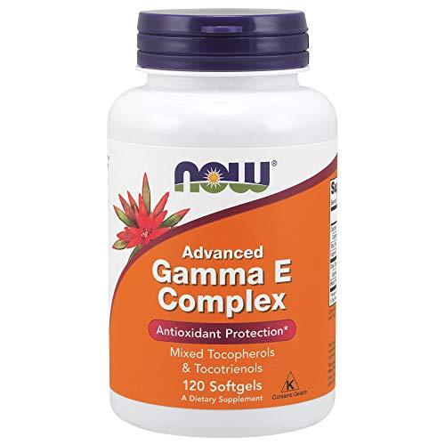 Now Foods Advanced Gamma E Complex Antioxidant Hochdosiert, 120 Weichkapseln (Vitamin-e-tocotrienol)