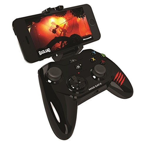 Mad Catz Micro C.T.R.L.i - Mando Gaming (iPhone, iPad, iPod), color negro