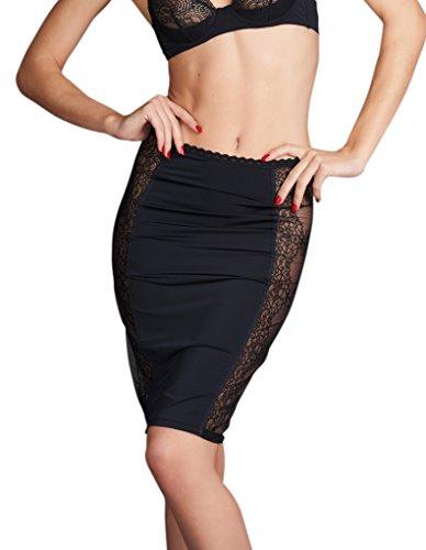 Maison Close 609800 Women's La Directrice Black Skirt Large -