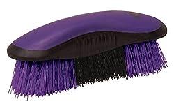 Weaver Leather 65-2059-C3 Dandy Brush, Purple/Black