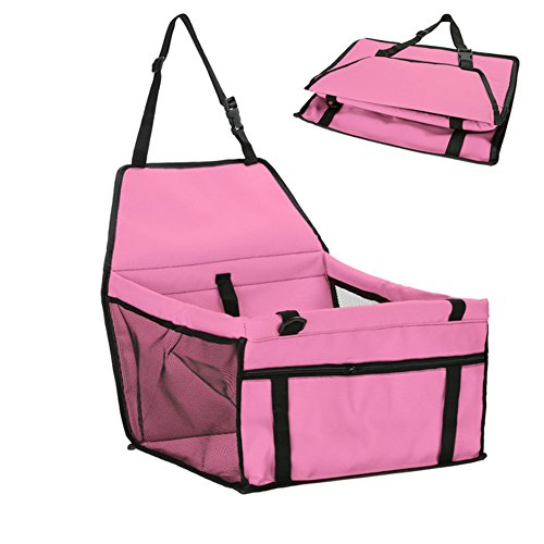 myfei Pet Dog Carrier auto Pad, Safe mit Hundebeutel, Scratch klappbare waschbar Box Aufbewahrung Pocket Katze Puppy Zubehör Pet Products (Grün-pumpen Helle)