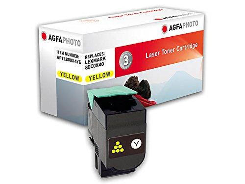 Preisvergleich Produktbild AgfaPhoto APTL800X4YE Remanufactured Toner Pack of 1