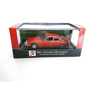 Citroën SM 1974 1:43 - LES AUTOS MYTHIQUES de DOMINIQUE CHAPATTE - DIECAST