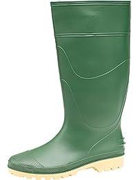 Dikamar Slip-On Self-Lined Wellingtons - Green - Size 12