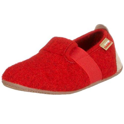 Living Kitzbühel T-Mod. uni 1446, Pantofole unisex bambino Rosso (Rot (Rot350))