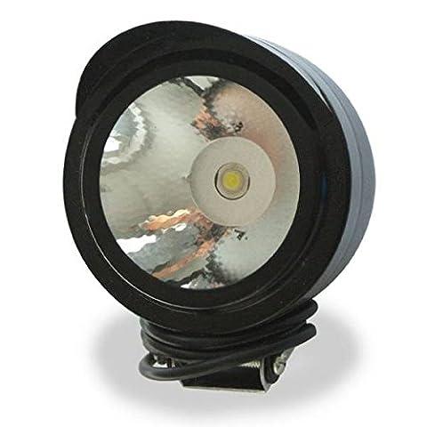 Générique LED Lampe Projecteur 3W 12V-80V Pour Camion Auto Voiture SUV ATV Bateau Moto Vélo de trou de montage 8mm