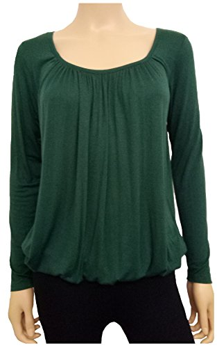 Xpression Fashion Maglia a manica lunga - Donna Sea Green
