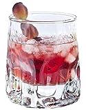 Durobor 342/38 Quartz Old Fashioned - Vaso de whisky 33 cl, 6 unidades