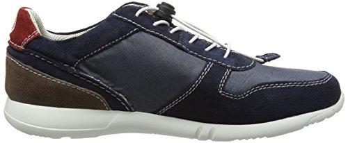 Bugatti K190436, Sneakers Basses homme Bleu (blau / taupe 419)