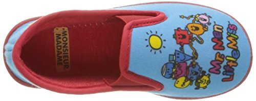 Be Only Sans Gene Mr Mme Game, Chaussons Doublé Chaud mixte enfant Multicolore (Multico)