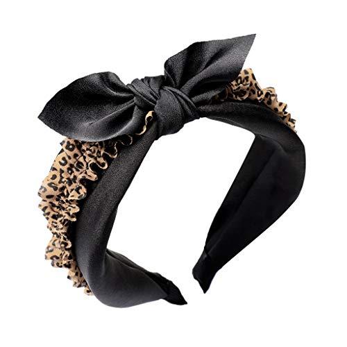 POTOU Haarschmuck Elastisches Haarband Haarreife Kristall Strass Kopfkette für Frauen ()