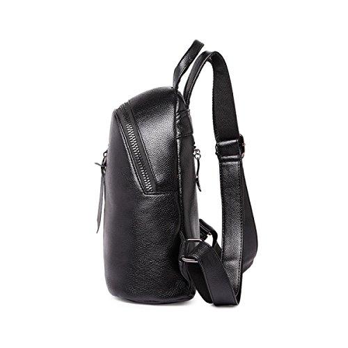 5fa68c6037 Pu Leather Borsa A Tracolla Femmina Nuova Versione Coreana Casual Zaino Da  Viaggio Borsa Selvaggia Mummia ...