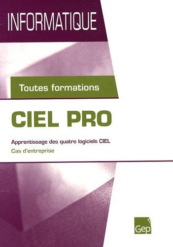 Ciel pro : Toutes formations