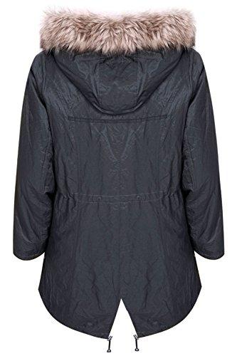 Yours Clothing - Manteau imperméable - Femme Gris