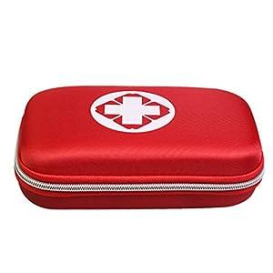 15000P Erste Hilfe Tasche Leer Reiseapotheke Tasche Medikamententasche Reise Sanitätstasche 22 x 13 x 5cm