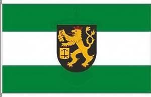 Königsbanner Hochformatflagge Dorsheim - 120 x 300cm - Flagge und Fahne
