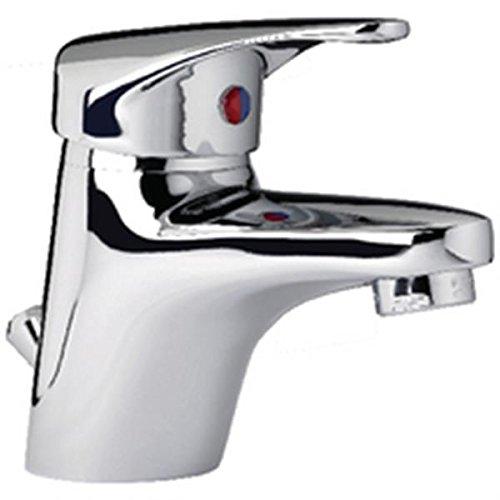 mitigeur de lavabo - alterna mezzo - vidage abs - cartouche céramique avec point dur c3 - manette métal - nf - chromé