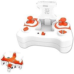 SKYKING Mini Drone S-007 Control remoto UAV 2.4GHz Tiny UFO con regalo giroscopio para niños Toy Quadcopter con hélices extra
