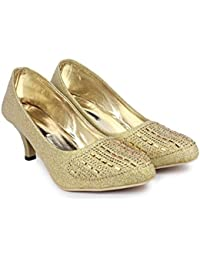 5d8d8a3dec SINLITE Stylish Fashionable Trendy Footwear Collection - Synthetic Heel  Bellie For Women & Girl