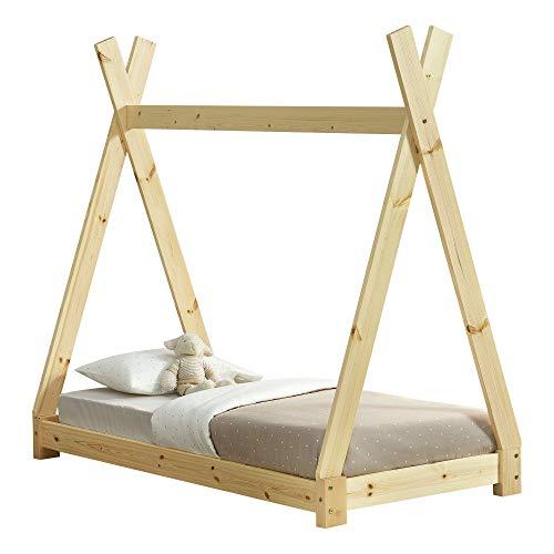 [en.casa] Letto per Bambini 70 x 140 cm Design Teepee...