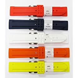 SiliconZRC Waterproof Watch Straps