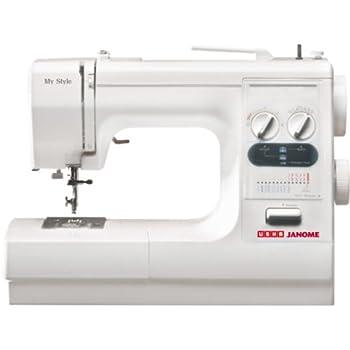 472e519dfb1 Usha Janome My Style Automatic 80-Watt Sewing Machine (White ...