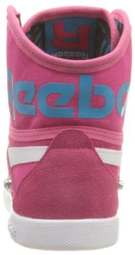 Reebok De Snaps Rosa Damen Azul Branco Baixo Bomba Para Cima Subiu fusão Txt Sneaker rfdvwarnTq