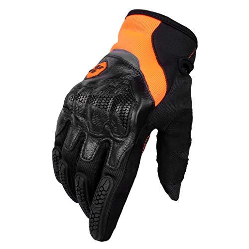 Guanti da moto unisex touch screen guanti da moto protezione delle articolazioni della mano guanti da motocross antiscivolo resistente all'usura scoot
