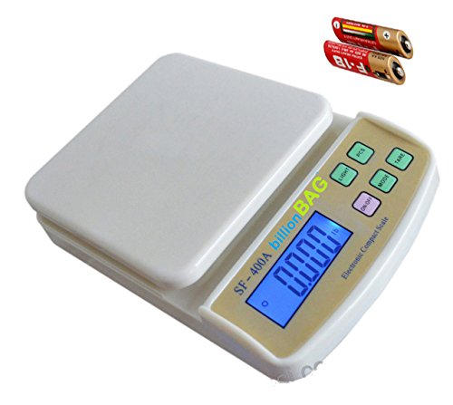 billionBAG Fine Quality ABS SF 400A 5Kg With Battery with Diff. Weighting Units Digital Multi-Purpose Kitchen Weighing Scale  available at amazon for Rs.497
