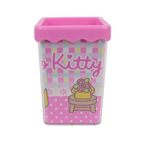 Ciao Kitty creativa portapenne penna bella tazza contenitore della penna KT9404 (Ciao Kitty Carta)